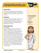 My Big Fat Greek Olympics Lesson Plan