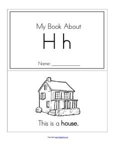 My Book About Hh Worksheet