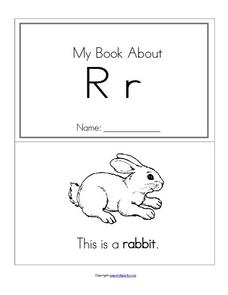 My Book About Rr Worksheet
