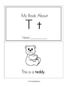 My Book About Tt Worksheet