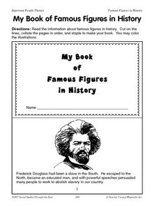 My Book of Famous Figures in History Lesson Plan