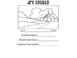 My Church Worksheet