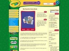 My Favorite Colors Book Lesson Plan