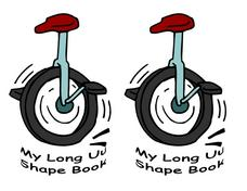 "My Long ""U"" Shape Book Worksheet"