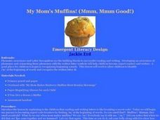 My Mom's Muffins! (Mmm, Mmm Good!) Lesson Plan