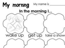 My Morning Worksheet