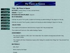 My Place in Space Lesson Plan