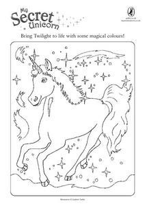 My Secret Unicorn Worksheet
