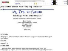My Trip to Russia: Building a Model of Red Square Lesson Plan