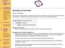 Mysteries of our Past Lesson Plan