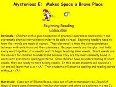 Mysterious E: Makes Space a Brave Place Lesson Plan