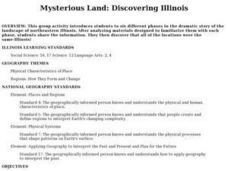 Mysterious Land: Discovering Illinois Lesson Plan