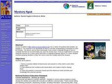 Mystery Spot Lesson Plan