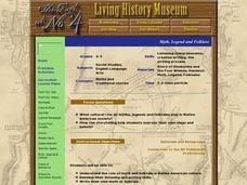 Myth, Legend and Folklore Lesson Plan