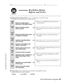 Napoleon Forges an Empire Worksheet