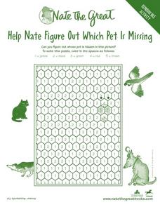 Nate The Great - Help Nat Figure Out Which Pet Is Missing Worksheet