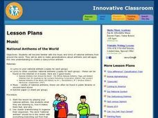 National Anthems of the World Lesson Plan