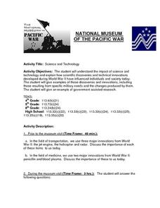 National Museum of the Pacific War Lesson Plan