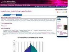 National Population Projections Lesson Plan