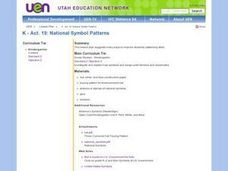 National Symbol Patterns Lesson Plan