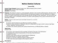 Native Alaskan Cultures Lesson Plan