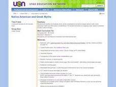 Native American and Greek Myths Lesson Plan