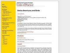 Native American Birds Lesson Plan