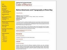 Native Americans and Topography at Rose Bay Lesson Plan