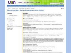 Native Americans in Utah History: Research Project Activities & Project