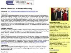 Native Americans of Rockland County Lesson Plan