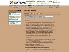 Natural Disasters Exploring Plate Tectonics Lesson Plan