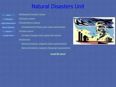Natural Disasters Unit Lesson Plan