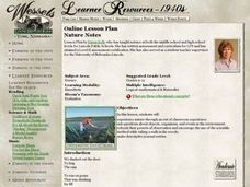 Nature Notes Lesson Plan