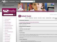 Netball Goals Lesson Plan