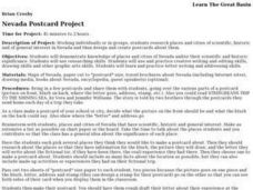 Nevada Postcard Project Lesson Plan