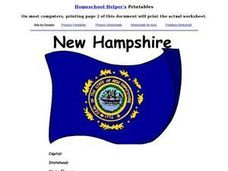 New Hampshire Worksheet