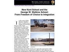 New Kent School and the George W. Watkins School: Lesson Plan