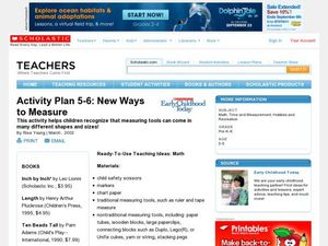 New Ways to Measure Lesson Plan
