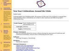 New Year Celebrations Around the Globe Lesson Plan