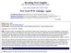 New York WTC Redesign - Again (Easier Version) Worksheet