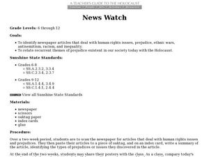 News Watch Lesson Plan