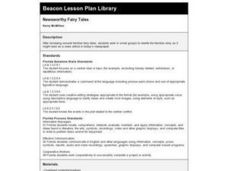 Newsworthy Fairy Tales Lesson Plan