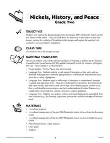 Nickels, History, and Peace Lesson Plan