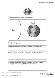 Night and Day Lesson Plan