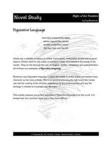 Night of the Twisters Figurative Language 3rd - 4th Grade Lesson Plan ...