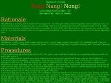 Ning!Nang! Nong! - The Letter N Lesson Plan