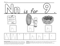 Nn if For... Worksheet