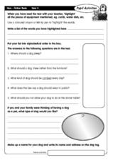 Non-Fiction Reading Comprehension Lesson Plan