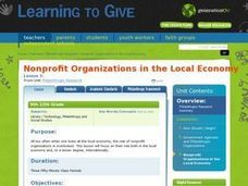 Nonprofit Organizations in the Local Economy Lesson Plan