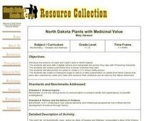 North Dakota Plants with Medicinal Value Lesson Plan